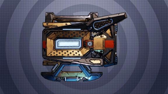 Borderlands 3 Legendary Shield - Re-Volter