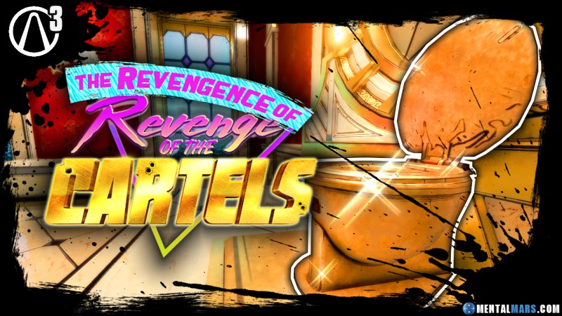 Where to find the Golden Toilets in Revenge of the Cartels - Borderlands 3