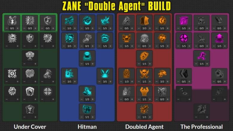 Zane 'Double Agent' Build Skill Tree - Borderlands 3