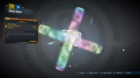 Borderlands 3 Legendary Eridian Artifact - Shlooter
