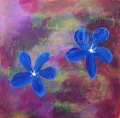 Doolin Flower Painting No. 3 - Zen Of The Boreen