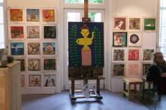 One Bare Foot Square, co-curated group exhibition with Uncooked Culture