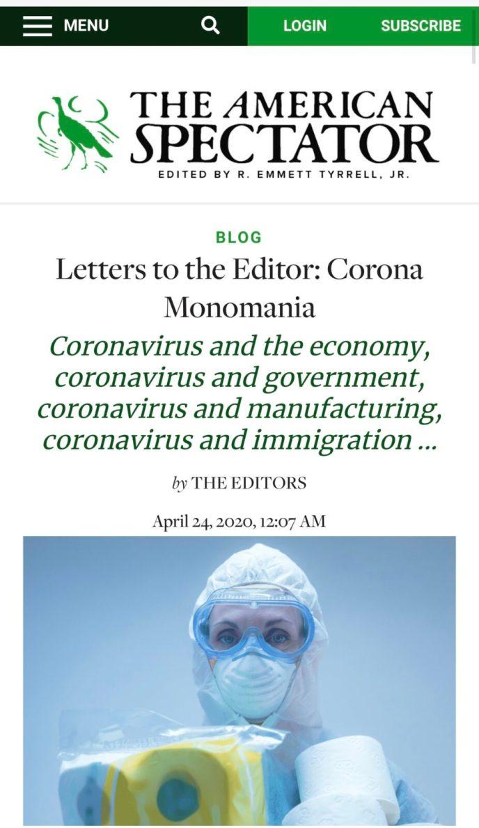 Coronavirus and mental toughness