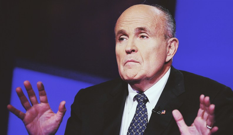 rudy giuliani writes ny post article that blames nyc's homeless problem on mayor bill de blasio's progressive values