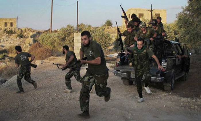 us revises number of trained syrian rebels to nine