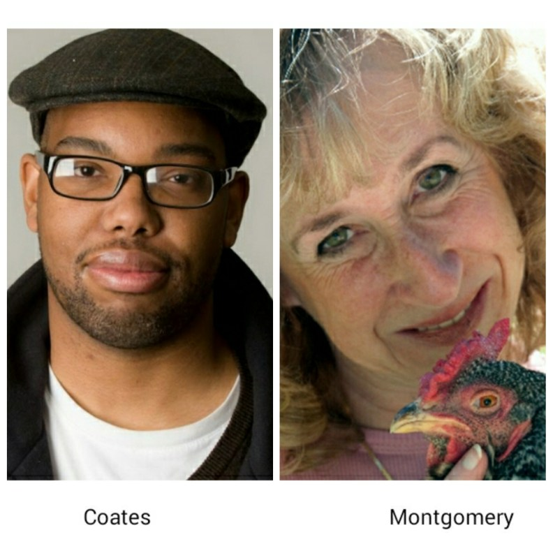 ta-nehisi coates and sy montgomery have been ned to the 2015 national book awards nonfiction long list