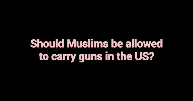 muslims and gun rights poll