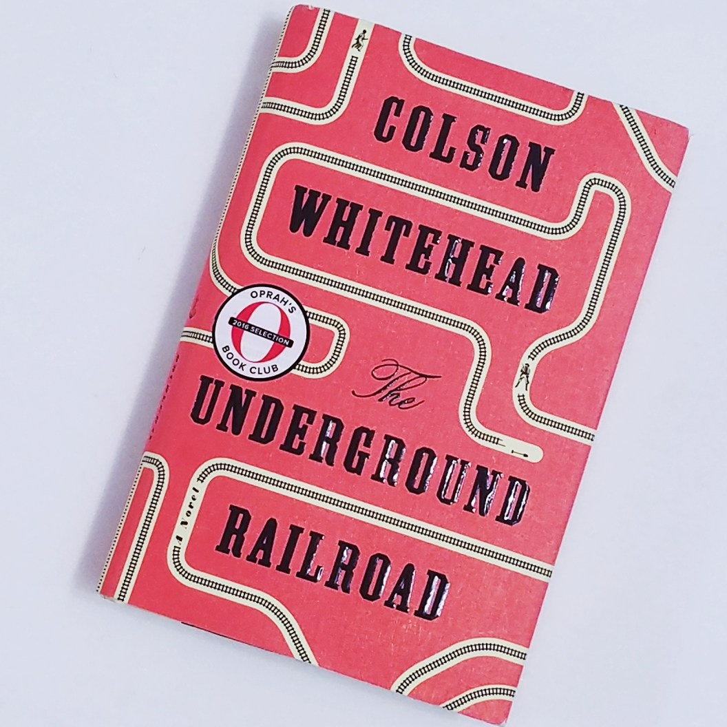 colson whitehead underground railroad novel national book award new york slavery