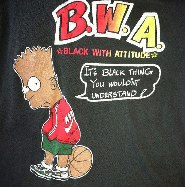 It's a black thing bart simpson