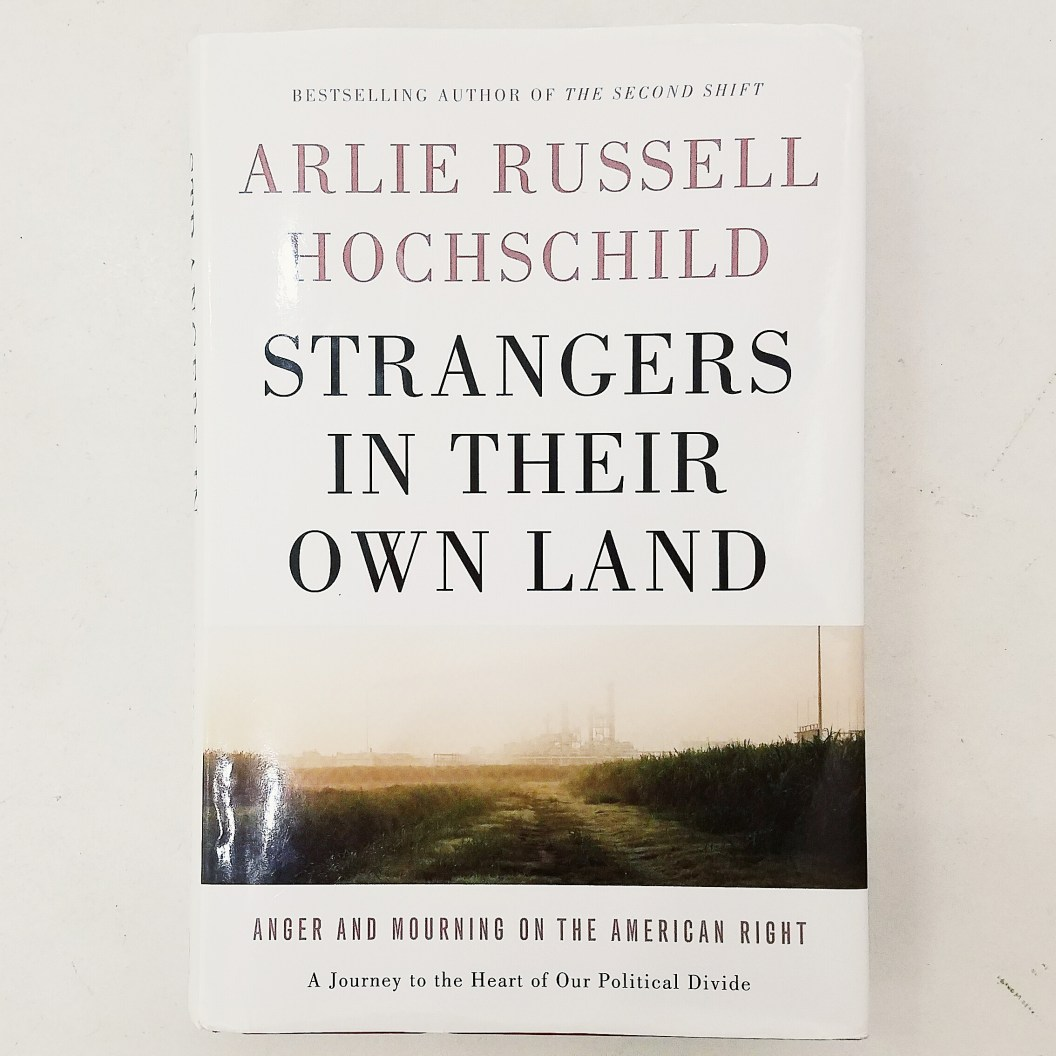 strangers in their own land, book, review