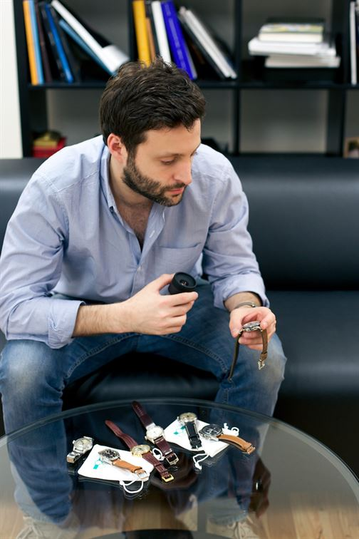 Adam Golden, MentaWatches founder