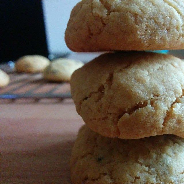 Biscotti con gocce di cioccolato : cookies!