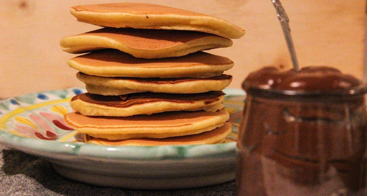 3 cugine in cucina : pancake a merenda
