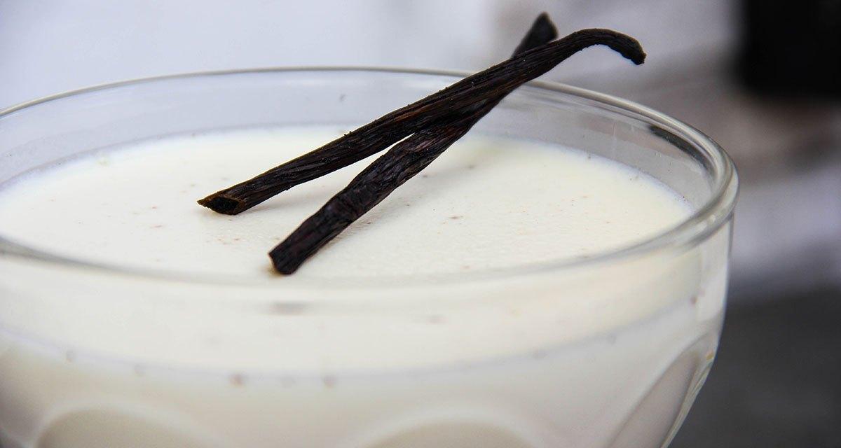 Panna cotta alla vaniglia : frivolezza.