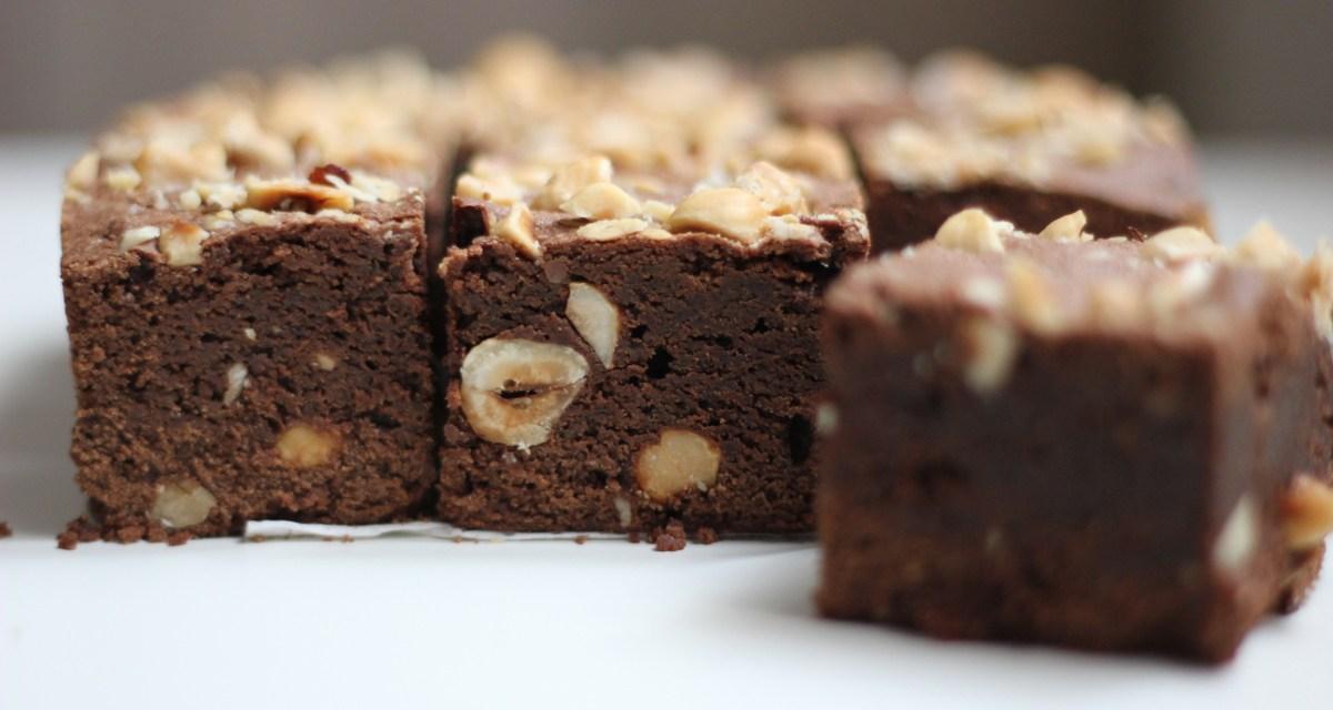 Brownies alle nocciole