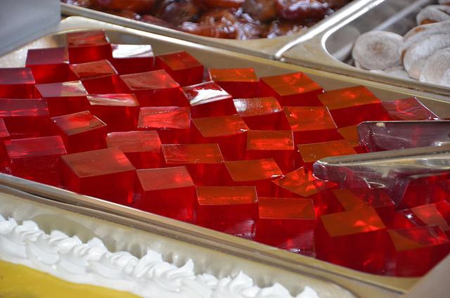 gelatine cubotti rosse