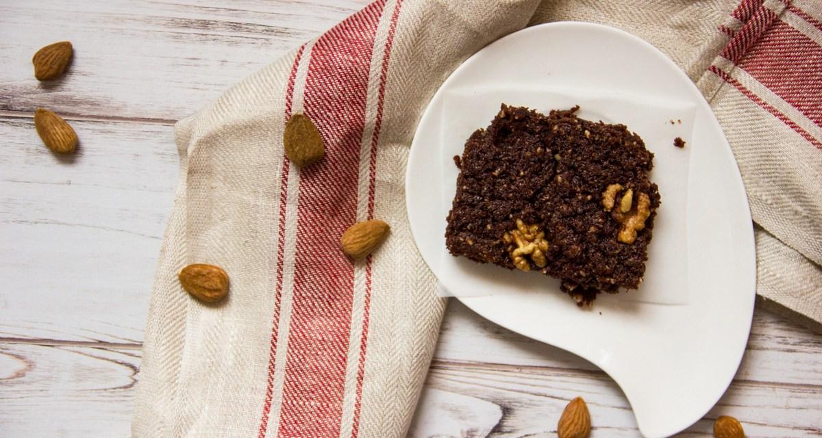 Brownies al cioccolato e noci senza glutine