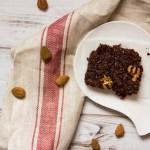brownies al cioccolato fondente e noci senza glutine