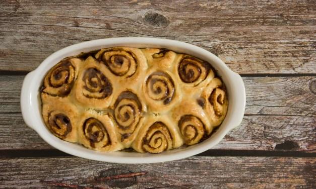 Cinnamon rolls o brioche alla cannella