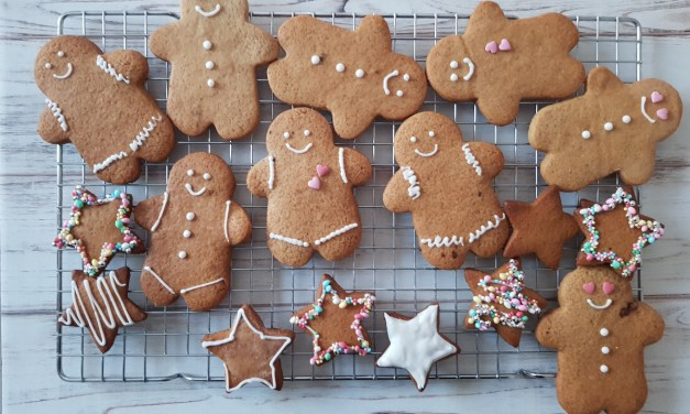 Gingerbread cookies (o omini di pan di zenzero)