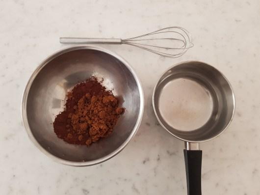 Ingredienti per la Devil's Food Cake
