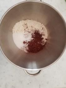 Torta pere, cioccolato e mandorle