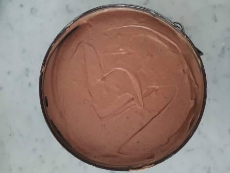Cheesecake al cioccolato senza forno