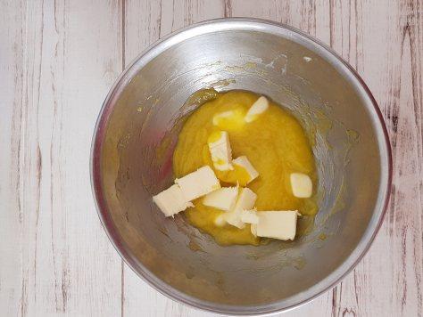 Crema pasticcera al limone con burro