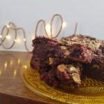 Brownies cioccolato, pistacchi e sale di Camargue