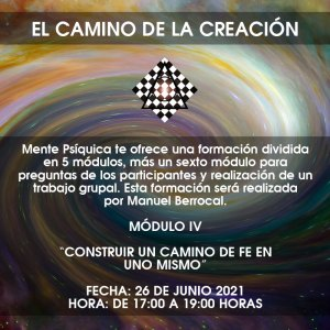 Formación El camino de la creación - Módulo IV @ Mente Psíquica, entrenamiento para médiums y psíquicos