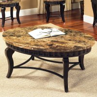 9 Best Collection of Round Granite Top Coffee Tables
