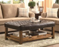 The Best Large Leather Ottoman Coffee Table
