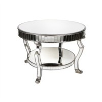 The Best Elegant Mirrored Coffee Table Round
