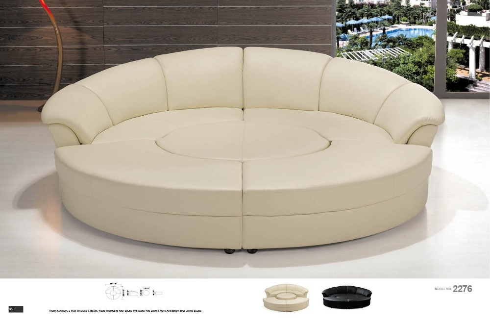 20 Ideas of Big Round Sofa Chairs