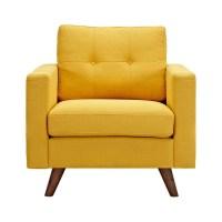 2018 Popular Yellow Sofa Chairs
