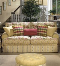 Country Cottage Sofa French Country Cottage High Point ...