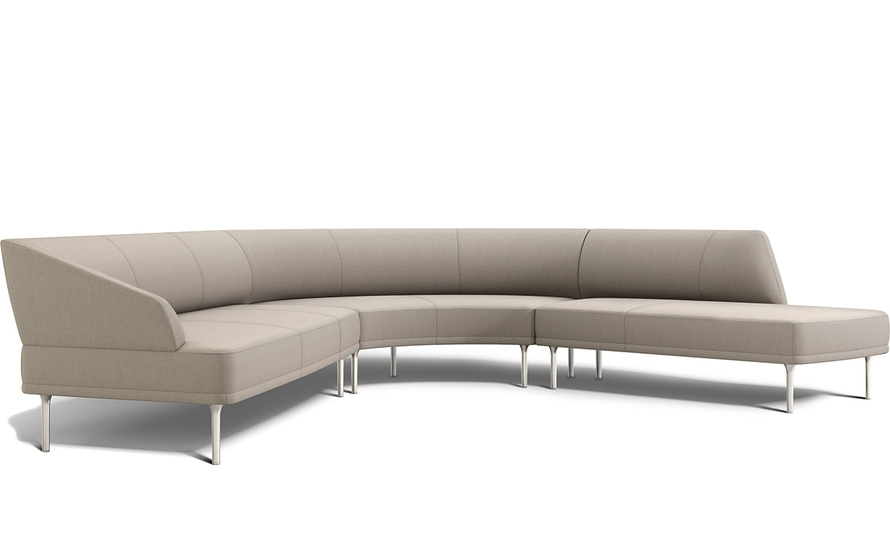Sectional Couch 45 Degree