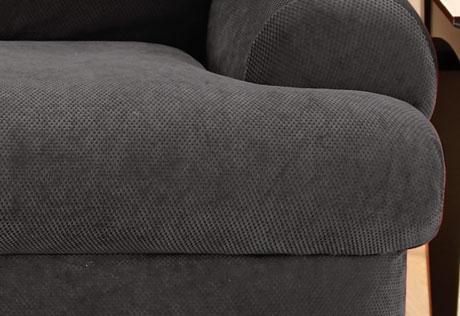 surefit sofa slipcover target caramel leather decor black t cushion sure fit stretch pique ...