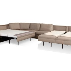 American Made Sofa Sleepers Axis Ii 3 Piece Sectional 30 Collection Of Beds