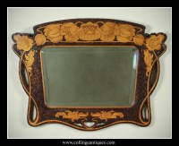 Top 25 of Art Nouveau Wall Mirrors