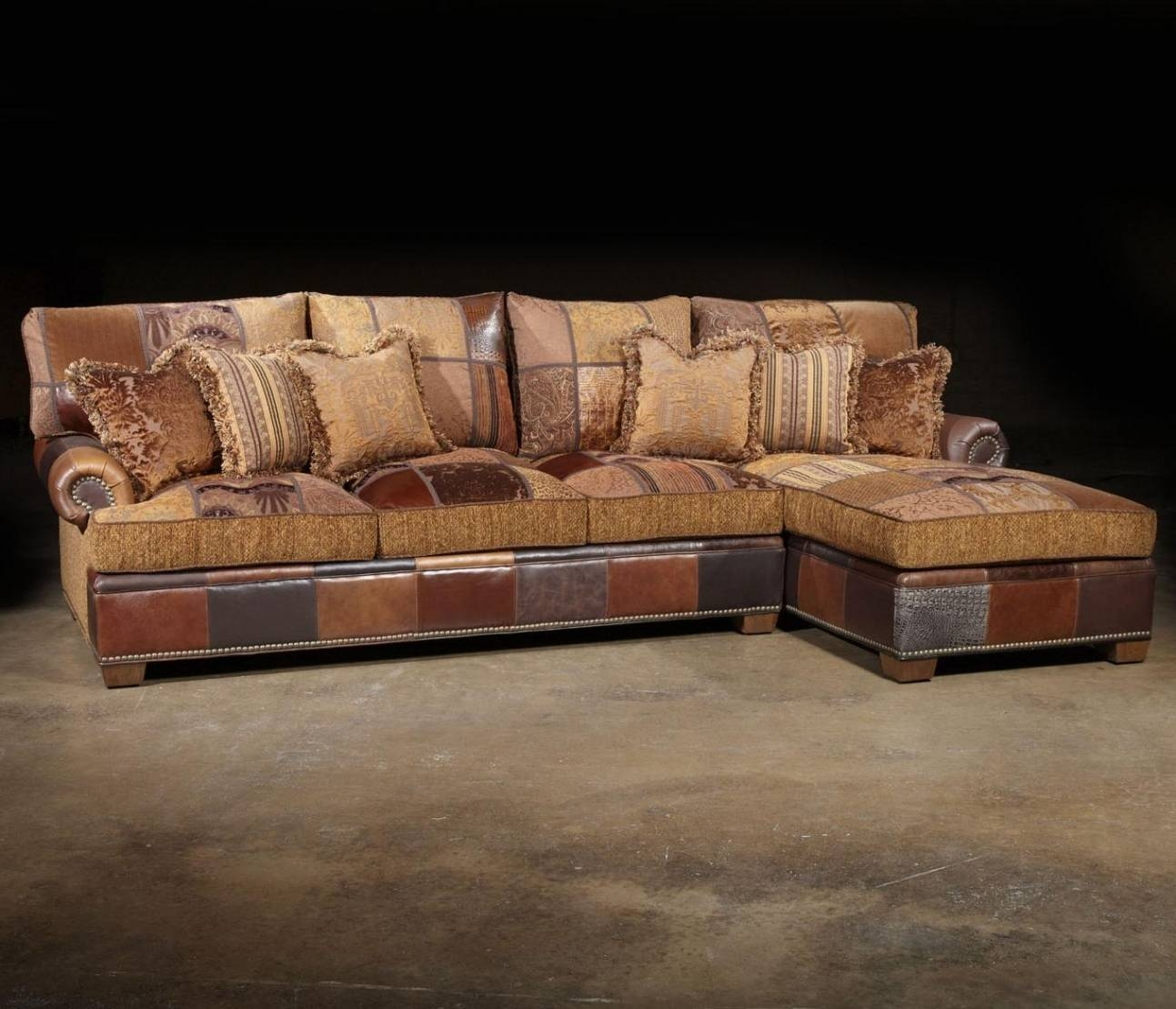 sofa with cuddler and chaise leather chesterfield in living room 25 best sectional
