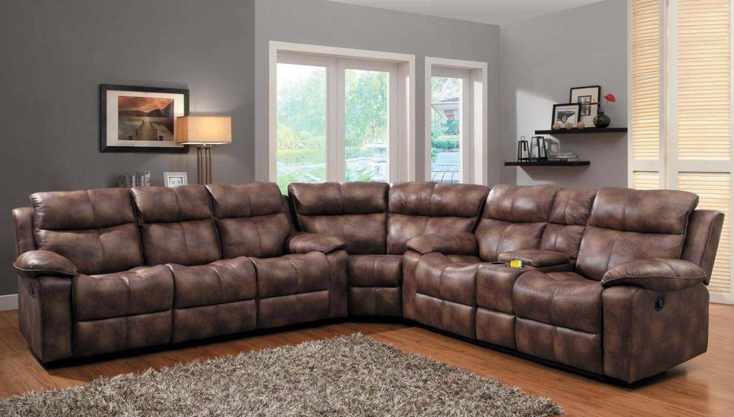 30 Best Jedd Fabric Reclining Sectional Sofa : fabric reclining sectional sofa - islam-shia.org