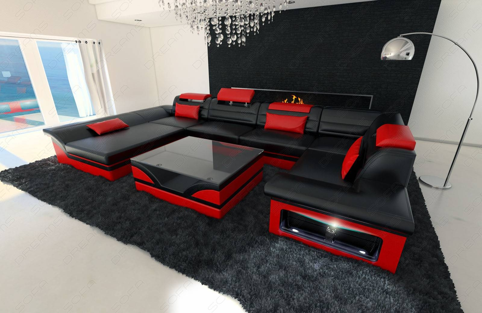 black and red leather sofa reviews ratings 25 collection of
