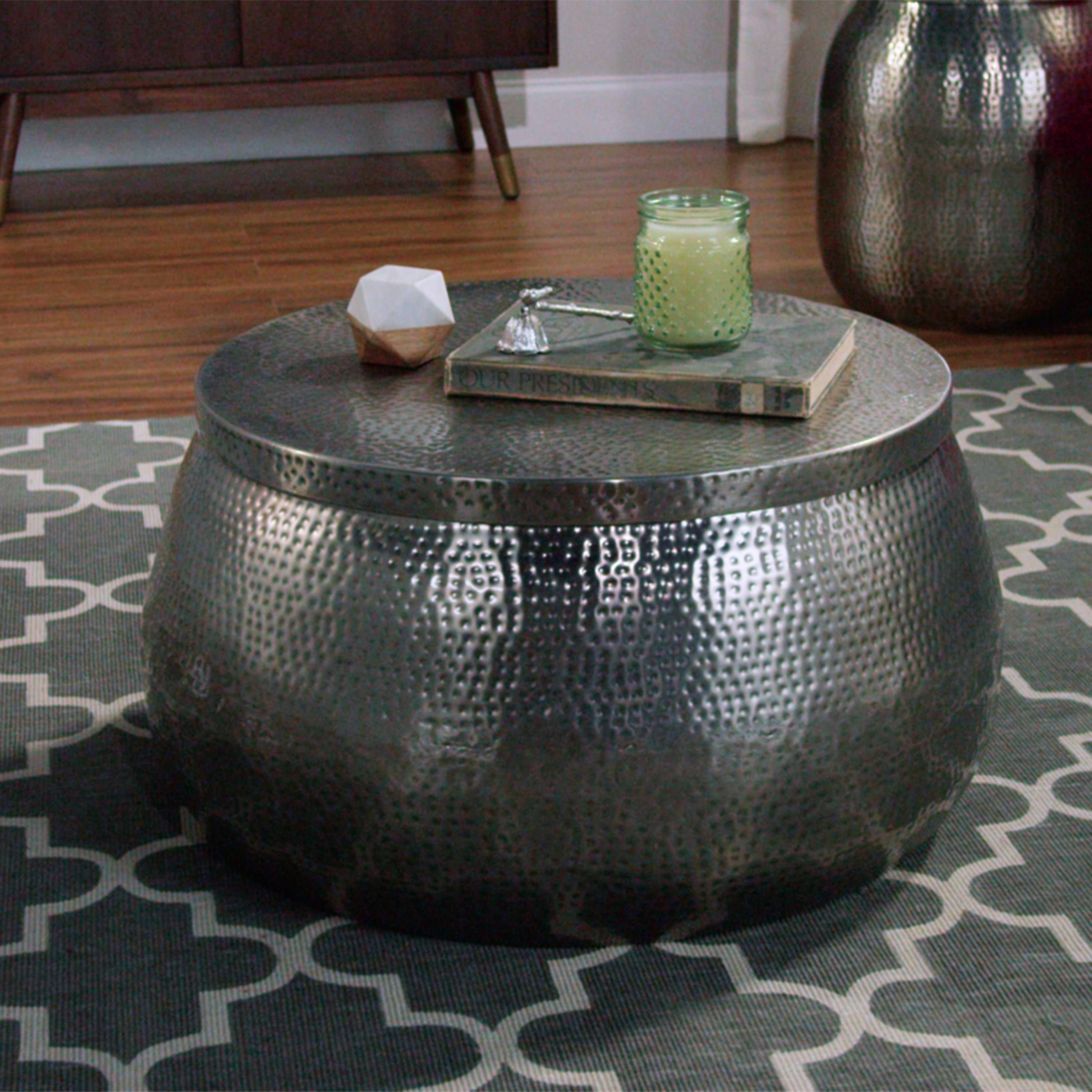 Cala Hammered Coffee Table. Cala Hammered Coffee Table