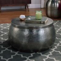 Cala Hammered Coffee Table. Cala Hammered Coffee Table ...