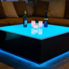 Led Table And Chairs Aluminum Adirondack 30 Photos Coffee Tables