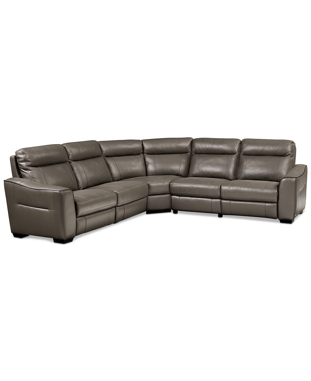 leather vs fabric sofa india corner faux fresh curved sectional recliner sofas