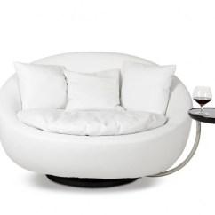 Modern Round Lounge Sofa Best Leather Under 2000 30 Photos Swivel Chairs