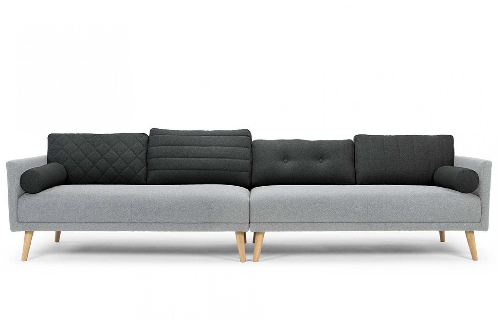 sofa 4 seater can you reupholster a leather with fabric 30 best collection of four sofas