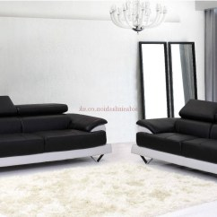 Black And White Leather Sofa Costco Russ Bed With Chaise Top 30 Of Sofas